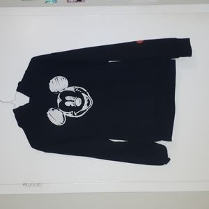 Black hoodie Mickey Mouse